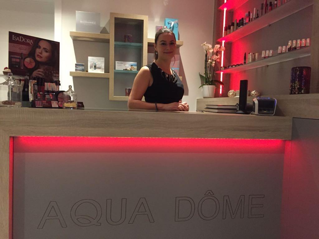 huidverzorging aqua dôme maarkedal